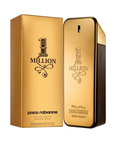 Paco Rabanne 1 Million Men Eau De Toilette 200ml