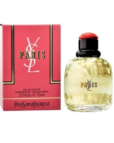 Yves Saint Laurent Paris Eau De Toilette 75ml