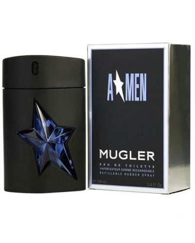 Thierry Mugler Angel Amen Refillable Rubber Spray Eau De Toilette 100ml