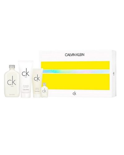 Calvin Klein One Eau de Toilette 200ml & Body Lotion 200 ml& Body Wash 100ml Set