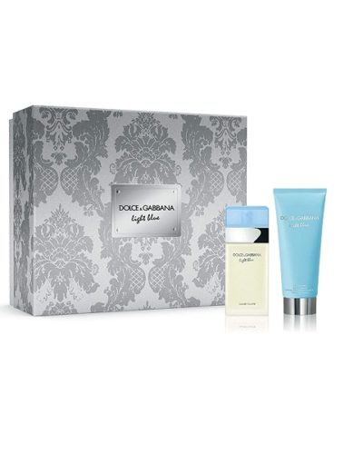 Dolce Gabbana Light Blue EDT & Body Cream Set