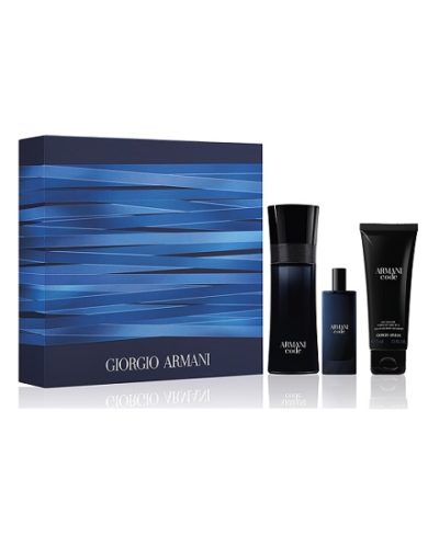 Giorgio Armani Code Eau de Toilette & Travel Size Edt & Shower Gel Set