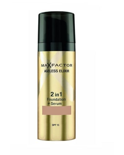 Max Factor Ageless Elixir 2 in 1 Make Up & Serum SPF15 50 Natural