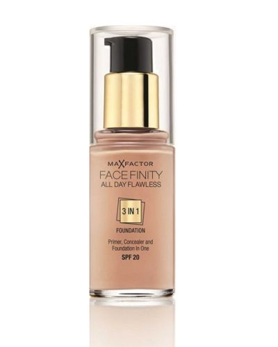 Max Factor Facefinity All Day Flawless 3 In 1 Foundation SPF20 45 Warm Almond